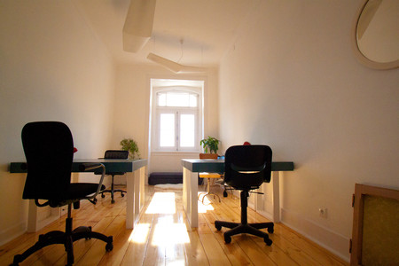 Our rooms are light, charming and private. Perfect for cowork teams