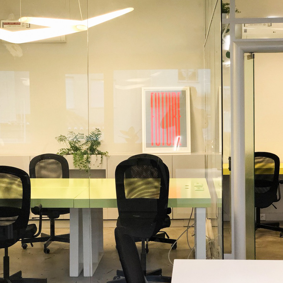 We have great private spaces for teams who need to talk and work between them