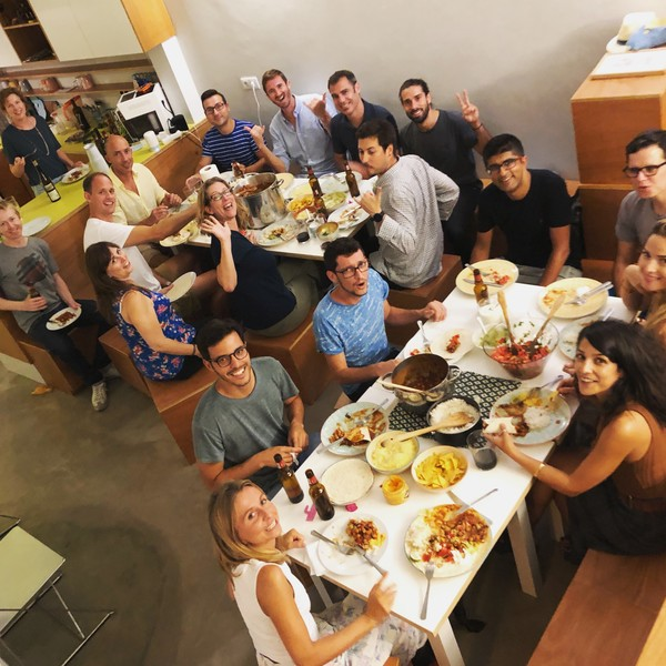 Our last Mexican dinner at Cowork Central Principe Real was a blast